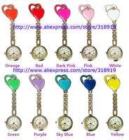 2014 new style Sweet Heart metal nurse quartz watch doctor medical pocket watch 100pcs/lot