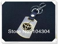 10 pcs/lot toyota rav4 car styling toyota car Key ring trd toyota wheel emblem center cap keychain key rings toyota verso type-r