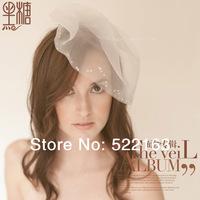 Bridal veil wedding hair accessory