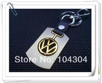2pcs/lot Volkswagen car styling car Key ring,vw jetta mk5 vw wheel emblem  vw polo gti car emblem keychain car key rings logo vw