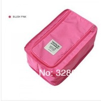 Free shipping  high-end Travel supplies waterproof receive shoe bag Folding shoes package box