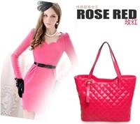 new 2014 women leather shoulder bag, leather handbag, women leather travel bag
