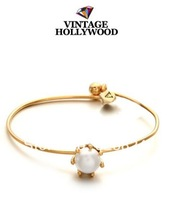 Free Shipping 2014 Newest Vintage Hollywood Simple Petit Pearl Bracelets Blogger Favorite Factory Price No MinOrder