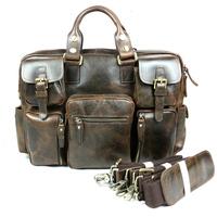 Men messenger bags, Cowhide Leather bags, Briefcase, Handbag / Handbags, Portfolio, Spring 2014, Zipper, Genuine leather, 624