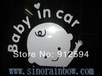2014, 1000pcs, Skull Family Baby in Car Stickers