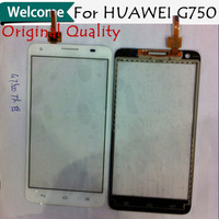 2014 Wholesale 5pcs/lot 100% Original Brand new touch screen digitizer for Huawei G750 Free shipping