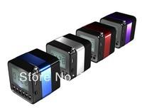 Wireless Mini Bluetooth Speaker NIZHI TT018 HiFi with MIC For iPhone 5 MP4 MP3 Tablet PC Music Player 30PCS Free ship