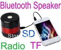 Portable Mini Bluetooth Hifi Speaker Micro SD/TF Card USB Disk Music Player MP3/4 SDY-001 SDY001 FM Radio for iPhone Samsung pc