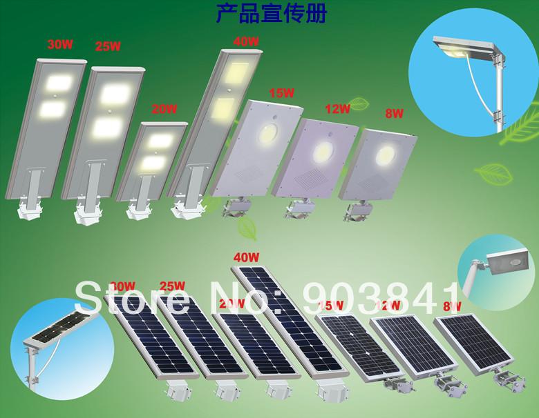 Освещение от солнечных батарей