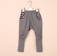 Baby boys pants kids children trousers spring leopard harem boys cotton pants 0305 sylvia 37489231838