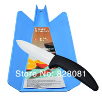Free Shipping,  6 inches Blade Kitchen/Crescent Knife and Chopper Board, Chef Knife Kits, Set of 2