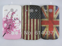 1pc for sale New Flower butterfly Painting soft Gel tpu Back Case Cover For Samsung Galaxy Core i8260 i8262