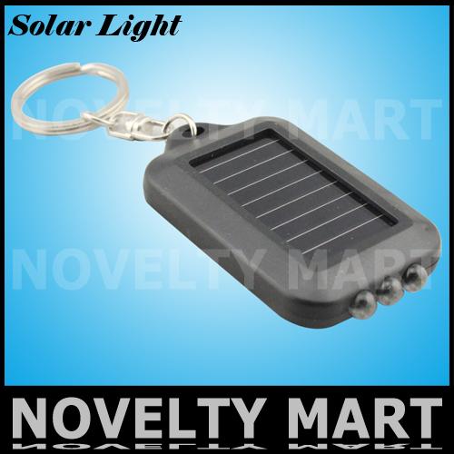 5pcs/lot Solar key chain lights emergency la