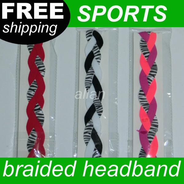 Wholesale Nylon Stretch Zebra Headbands(China (Mainland))