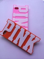 Fashion Victoria/'s Silicone Case Secret for iPhone 3D PINK Silicon Cover Case for iPhone5 5s 5g iphone 5 Free Shipping
