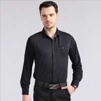 2014 New Spring Casual men shirt Cotton long sleeve star dot high quality fabric shirts Size: S-XXL