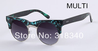 Retro a font women sunglasses  fashion street shooting star famous design style