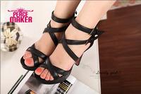 2014 new platform women's pumps summer Fashion high-heeled shoes  party dress shoe women's shoes sequined parts shoes
