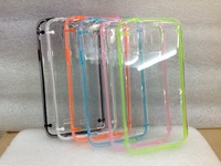 Newest Transparent shell plastic case for Samsung Galaxy S5 , Crystal shell clear case 10pcs/lot Free shipping
