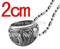 Wholesale 20 pcs Attack on Titan Scouting Legion  Necklace Shingeki no Kyojin Pendant gift Silver golden NH6630