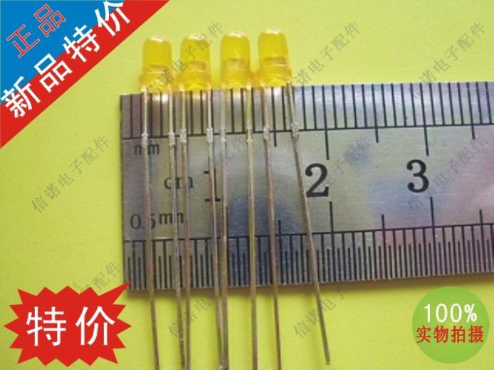 LED high- brightness light-emitting tube orange red light-emitting diode LED3MM(China (Mainland))