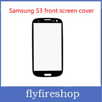 Galaxy S3 i9300 Front Screen Glass Lens White Digitizer Glass Cover for Samsung Galaxy S III I9300