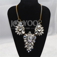 2014 Shourouk Statement Choker Necklace Women Chunky Necklace Charms Free Shipping JY0226025623