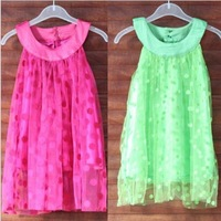 1 PCS NEW supernova sale 2014 christmas party birthday new year princess dress 2~14age girls dresses summer free shipping
