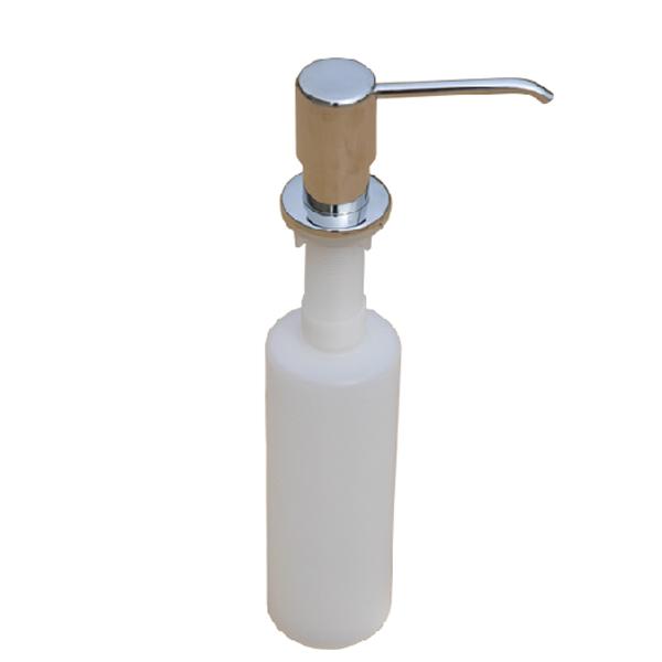New 300ml Stainless Steel + ABS Plastic Kitchen&Bathroom Sink Liquid Soap Dispenser(China (Mainland))