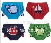 Children swimming trunks ! Free shipping Children cute cartoon animal boy 4 design swimming wear 6 pcs/lot  ETJ-Y0017