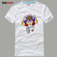 Iq arale lovers 100% cotton female short-sleeve T-shirt
