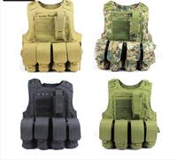 Amphibious vest ride vest molle tactical vest Camouflage vest