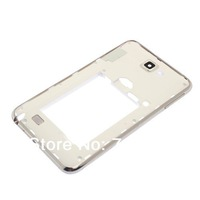 50pcs/lot New middle frame bezel Housing for Samsung Galaxy Note i9220 n7000 White color Free Shipping by DHL