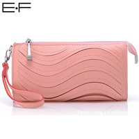 Free shipping! Fashion Korean Style PU Leather Stripe Hollow Out Design Mini Clutches Handbag Candy Color Evening Bags 128-0901