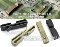 Ending tactical webbing clip strap molle backpack suspenders clip fastener
