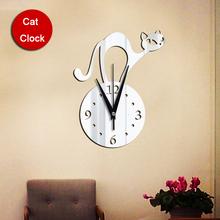 popular mirror wall clock