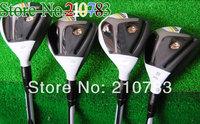 2014 New Men.s  Golf Clubs R.B.Z golf Hybrids wood 19.22.25 loft (3pcs)graphite/steel shaft clubs plus Headcovers/ Free Shipping