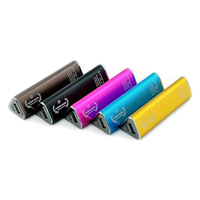 2600mAh universal mobile power bank 1 USB Li-lion battery cell 1 LED light for multiple devices iphone samsung mobiles S201