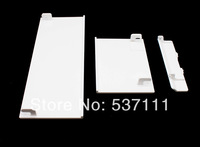 15PCS=5sets White Replacement Door Slot Cover Lid Part for Nintendo Wii Console System