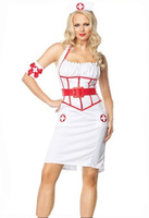 Nurse Costumes dress sexy nurse uniform temptation role playing sexy lingerie hlx6773-2 , free shipping