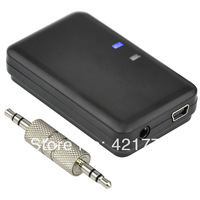 Bluetooth A2DP Portable Audio Music Receiver Player for Car Radio or Home Stereo AUX AMP Free Shipping