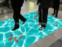 Interactive floor system for Advertising, event, wedding, children entertainment
