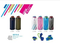 2014 Tour Climbing outdoor water bags 6 color folding sport water bottle with carabiner ,bike bicycle cycling  ice water bags