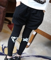 2014 Spring bloomers wholesale children's clothing comfort Printed Leggings 2-8 years old free shipping