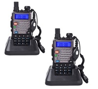 Free Shipping!! 2 pcs/ lot 2014 BaoFeng UV-5RE Dual-Band 136-174/400-480 MHz FM Ham Two-way Radio New Walkie talkie