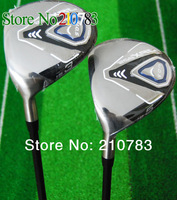 2014 Free Shipping Golf Clubs JPX 852 3/5 Fairway Woods.Graphite/shaft R/S shaft,With Club head covers