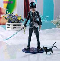 Free shipping-Japanese Anime Ao no Exorcist Blue Exorcist Okumura Rin 23CM Big Size PVC Action Figure Collection Model Toy Gift