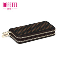 Women PU wallet hard-face dafetel dft093