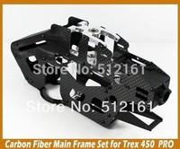 Carbon fiber main frame set TREX450 PRO helicopter carbon frame set TL2336