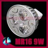 10pcs MR16 9W CREE Bulb Led Bulb DC 12V Dimmable Led Light Cool Warm White Led Lamp Spotlight  Support Dimmer